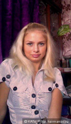 обломанные волосы блонд
