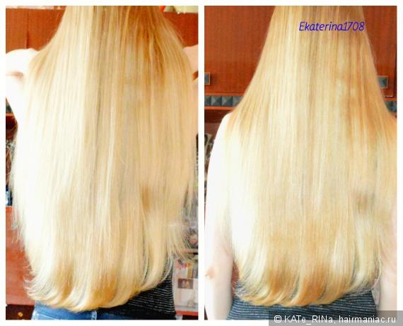 отращиваем свой цвет волос фото до и после