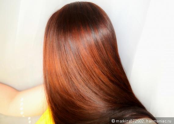 Окрашивание волос после черного цвета