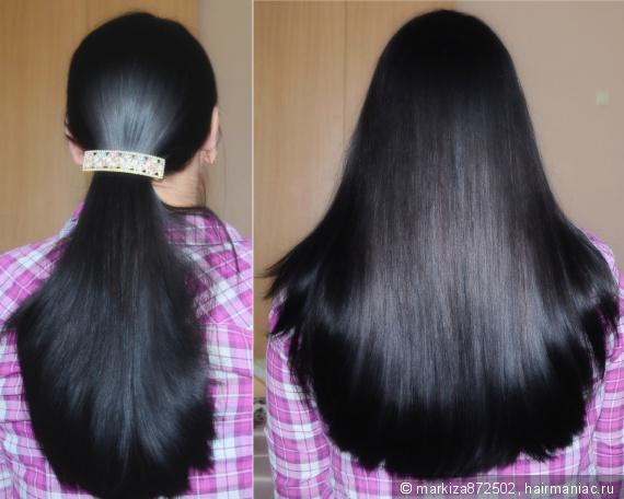 Басма для волос через сколько смывается