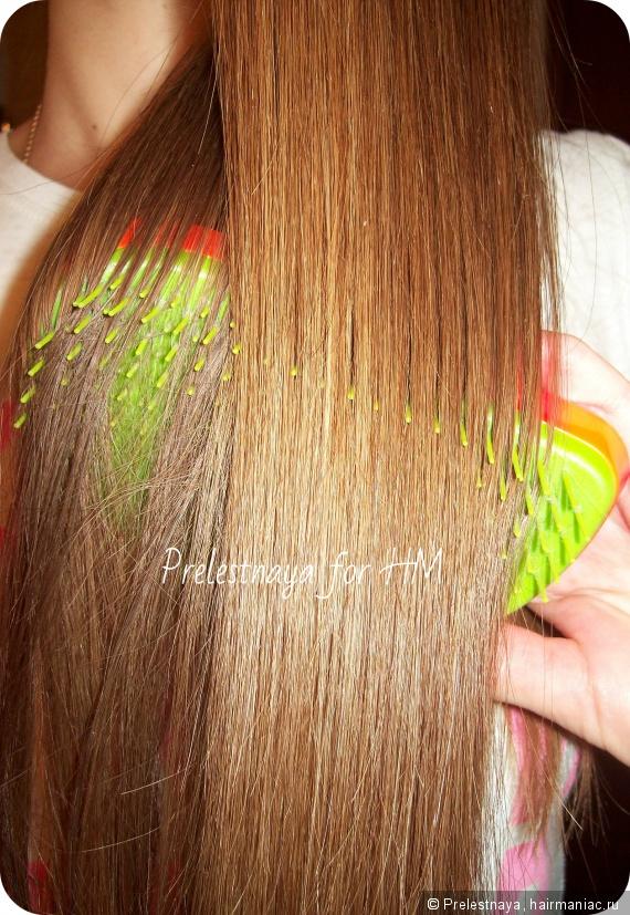 как легко расчесать запутанные волосы народный метод