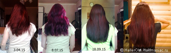 мои волосы в период беременности и после нее