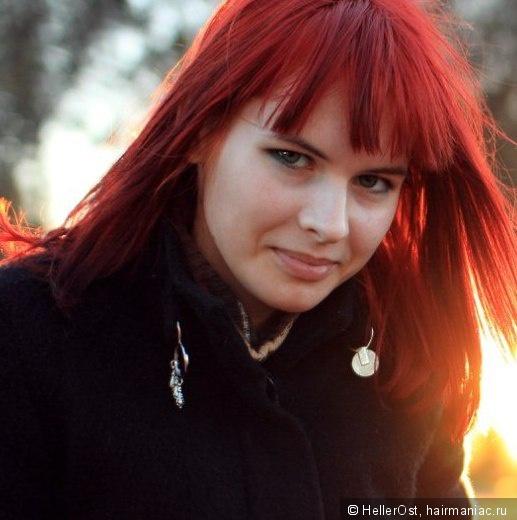 ярко-красные волосы) мечта сбылась,но пришлось предварительно обесцвечиваться. качество волос..? не,не слышали.