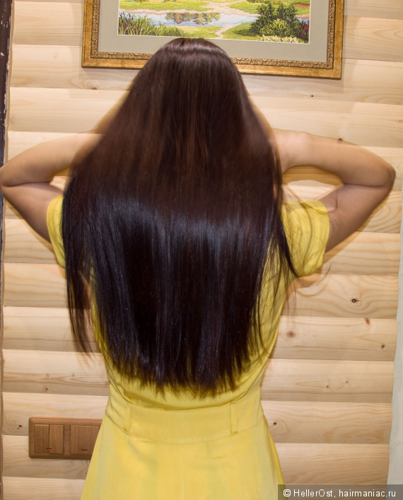 наращивание волос укладка