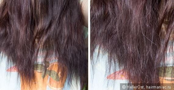 Покраска волос на влажные волосы