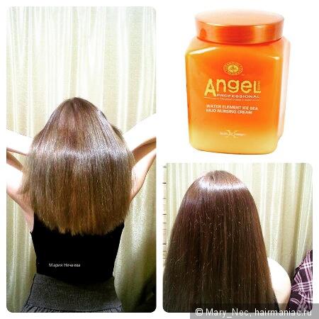 Маска для волос для утяжеления
