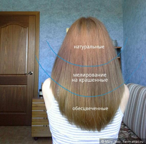 На сколько волос отрастает за месяц