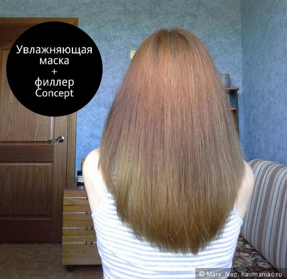 Как сделать ламинирование волос концептом