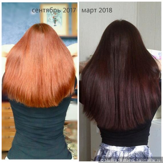 лучших басма для волос фото до и после пространство для