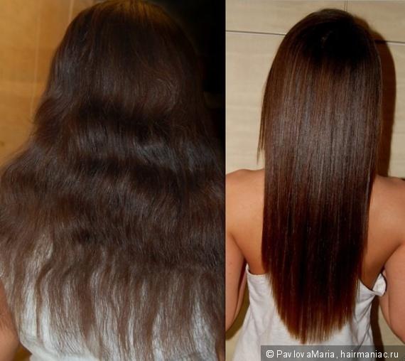 Пористые тонкие волосы
