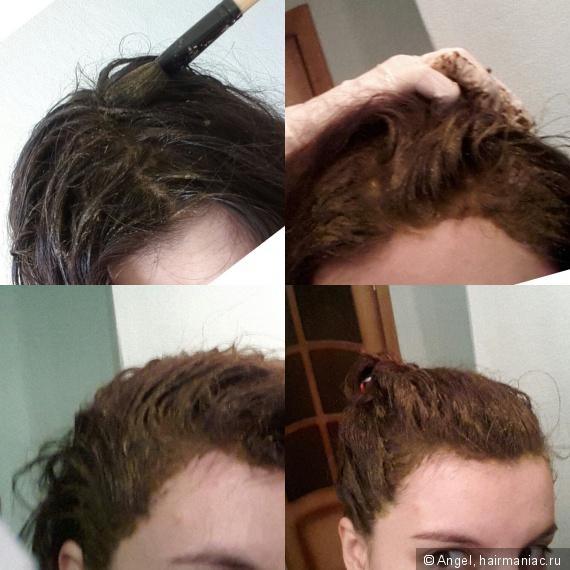 волосы у корней будто резиновые