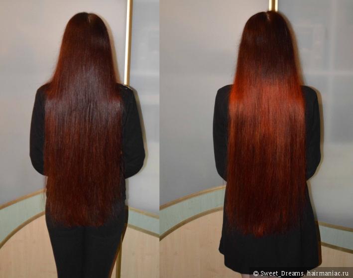 Как хна действует на волосы