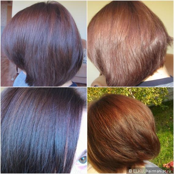 Промежуток между окрашиваниями волос