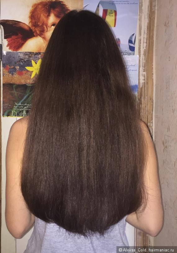 Как сделать чтобы волосы были гладкие и тяжелые 672