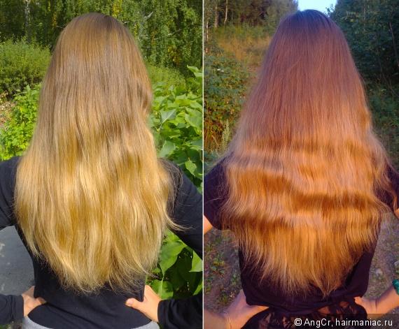 Волосы на конец и на начало Марафона 5
