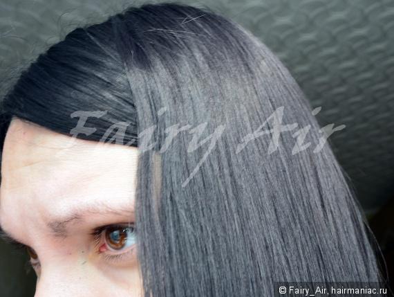 Хну наносить на сухие волосы
