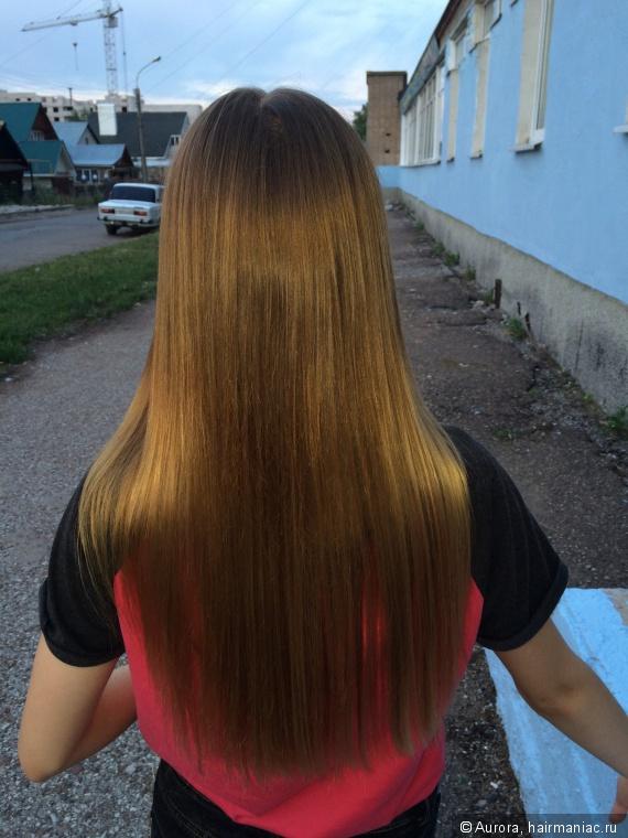 фото девушек которые отращивают свой цвет волос