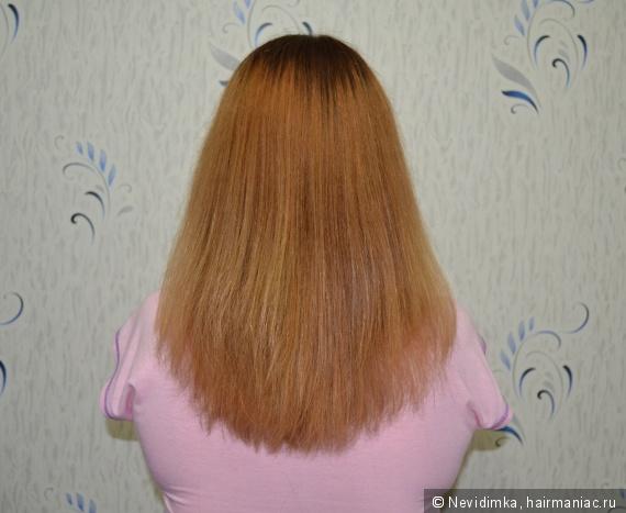 Волосы после шампуня Organic Tai и кондиционера Levrana