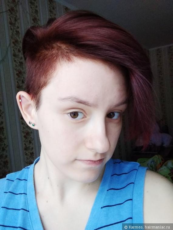 Окрашивание волос чистой хной Hathi
