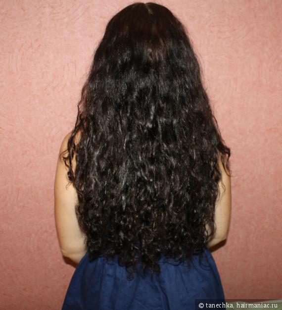 Волосы после серии олео релакс