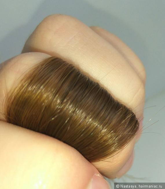 Без несмывашек и вспышки! Блестят! Крайние 5 см волос