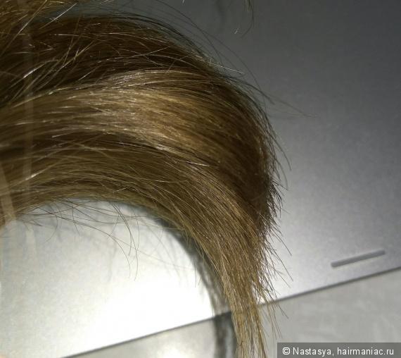 Фото волос без фильтров