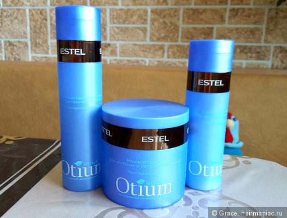 Otium шампунь для интенсивного увлажнения волос aqua