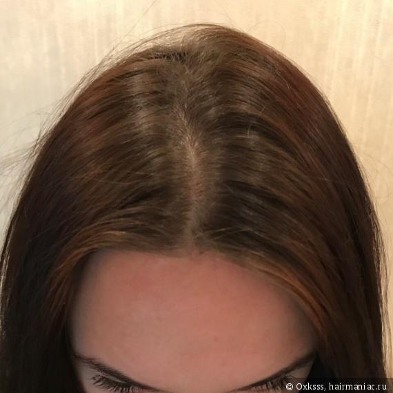 То, как отрасли корни волос за два месяца