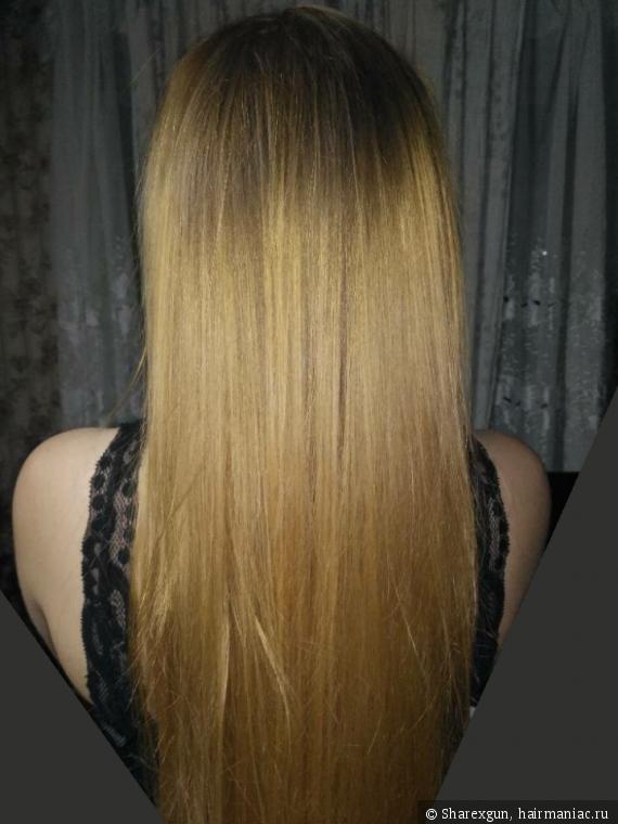 Блонд после псевдоорганики и КВ (который смылся)