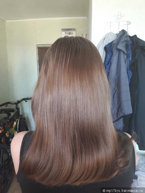 Волосы после мытья и использования только кондиционера
