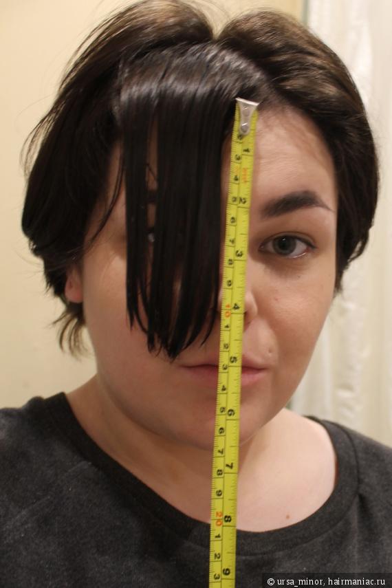 тысячная попытка снять длину волос