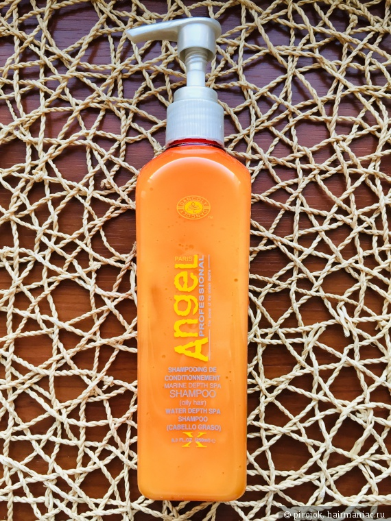 Angel Professional Marine Depth SPA Shampoo - шампунь для жирной кожи головы