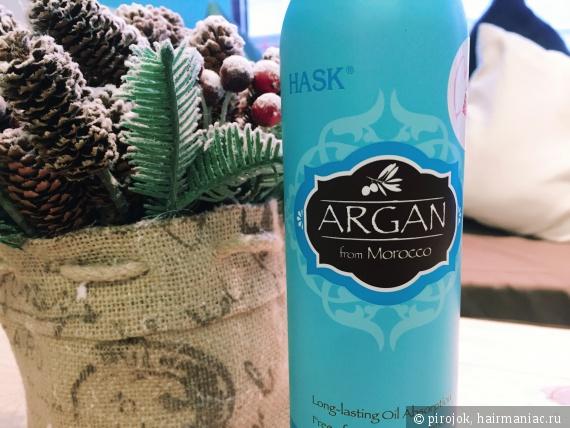 Сухой шампунь Hask Argan