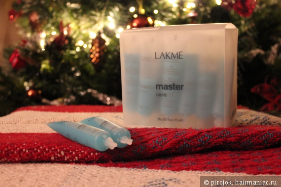 Ампулы Lakme Master Care Oil