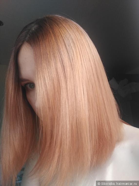 Волосы посвежели.