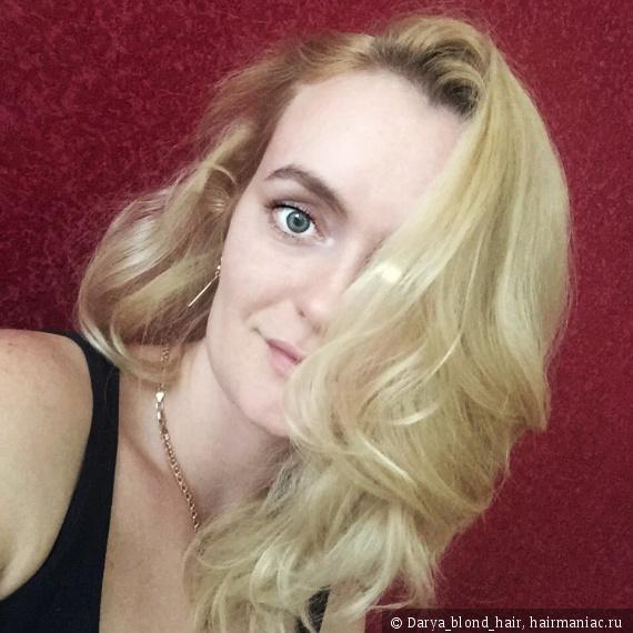 Волосы без укладки