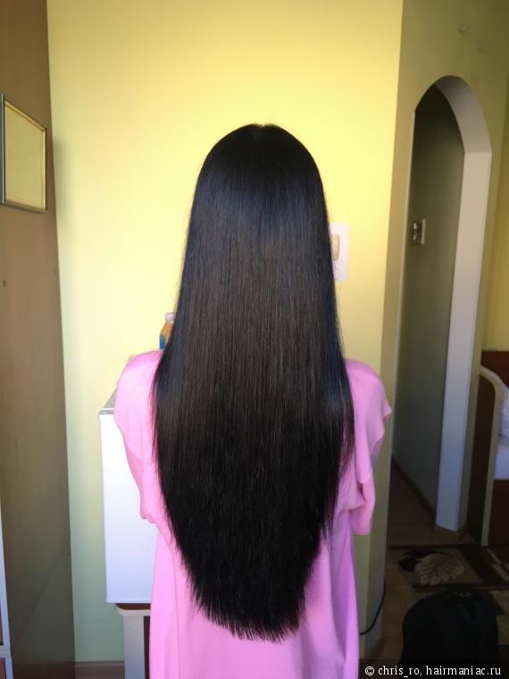Волосы на фото просто высушены феном. Без несмывашек