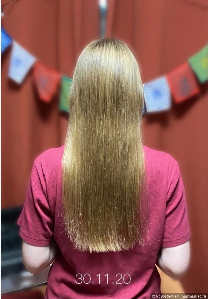 состояние волос на конец ноября 2020
