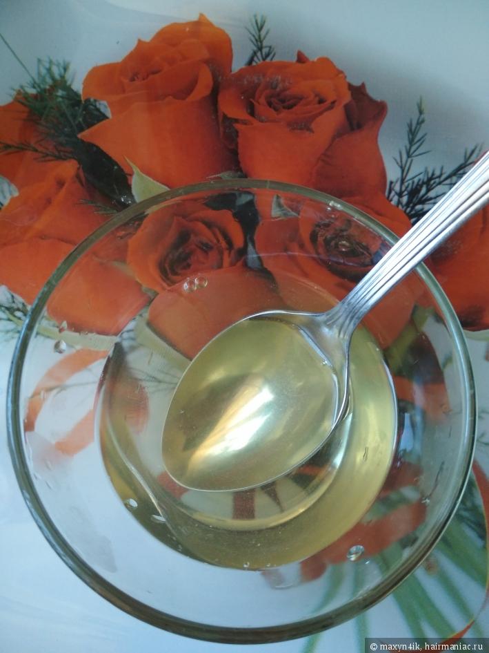 Разогретый желатин, жидкость должна быть без комочков