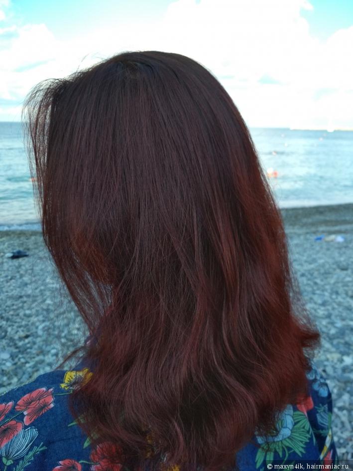 волосы после спрея