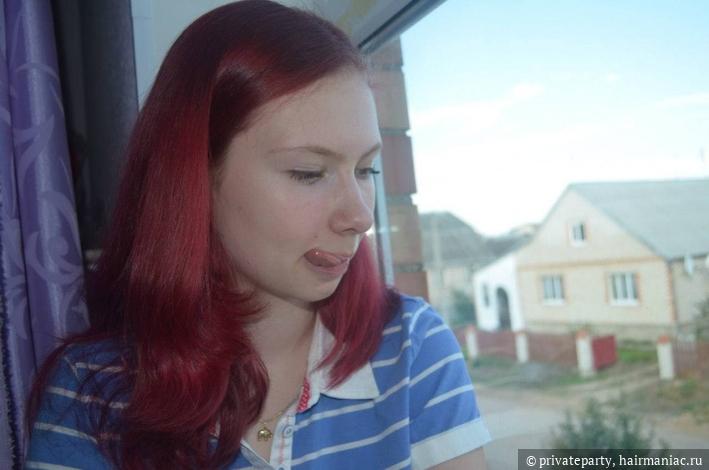 прошу прощения за выражение лица, но многие цвета волос остались только на таких единичных фотках