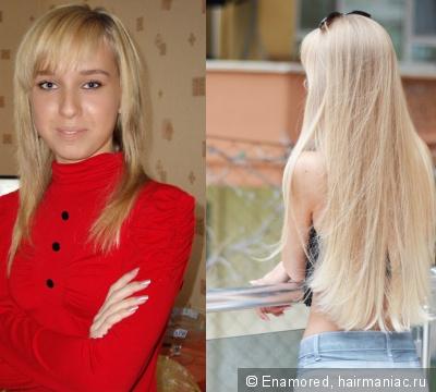 что мое отращивание волос фото до и после время