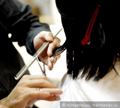 Как проредить волосы обычными ножницами